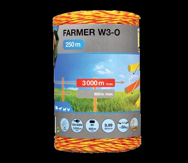 Taranöör FARMER W3-O, rull 250 m