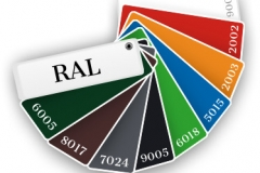 Aiapaneeli värvivalik RAL